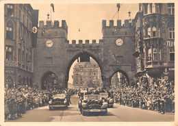 MILITARIA 1939 /1945 -  Die Hiftorifche ( 3 Juin 1943 ) HITLER   Timbres Paire JERSEY Et Cachet  Au Verso - Guerre 1939-45
