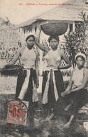 Tonkin Femmes Revenant Du Marché - Vietnam