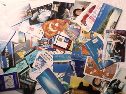 LOT 38 CARTES TELEPHONIQUES - Télécartes