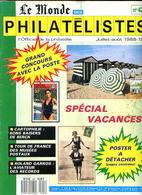 Le Monde Des Philatelistes N.421,Duarnenez,Liberté Gandon Varieté,Musées Postaux France,Pétain,Roland Garros,Berck - Revistas