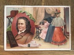 CHROMO CHOCOLAT SUCHARD S54 1897 Famous Inventors Inventeurs Célèbres Elias Howe Machine à Coudre - Suchard
