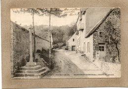 CPA - SAINT-JEAN-le-THOMAS (50) - Aspect Du Chemin Du Calvaire Qui Va De Granville Au Mt-St-Michel En 1903 - Other Municipalities