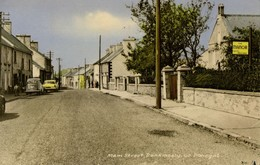 Ireland, Dunkineely, Donegal, Main Street (1973) Postcard - Donegal
