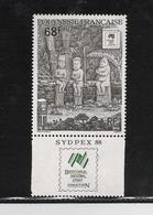 FRENCH POLYNESIA, 1988 Sydpex 1v With Tab MNH - Neufs