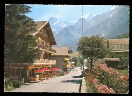 Les HOUCHES Hotels Le Slalom Et Julliard édition Combier Carte Rare - France