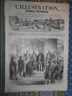 L' ILLUSTRATION 20/07/1861 EMPIRE OTTOMAN SULTAN ABDUL AZIS ROME ROI DE SIAM FREMIET HARLEM NANTES SUISSE NIDWALD UNTERW - Periódicos