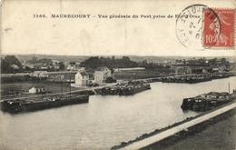 1 Cpa Maurecourt - Vue Générale Du Port - Maurecourt