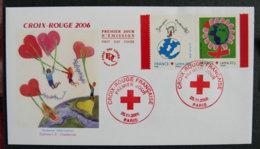 FRANCE - 2006 - FDC 3991 Et 3992 - CROIX ROUGE 2006 - FDC
