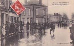 MONTARGIS         CRUE DU 20 JANVIER 1910.        FAUBOURG  D ORLEANS - Montargis