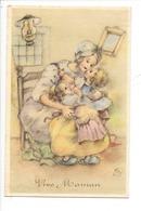 21522- Vive Maman Femme Et Ses Deux Filles Spécial 4252 - Autres