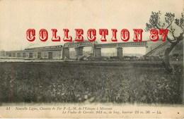☺♦♦ TRAIN Sur Le VIADUC De CARONTE - VIADUCT - PONT  BRIDGE BRUCKE < LIGNE PLM - Ouvrages D'Art