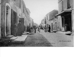 MOURIES La Rue D'Arles - Autres Communes