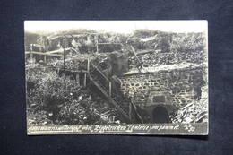 MILITARIA - Carte Postale Photo - Hartmannswillerkopf - Abri Ziegelrücken ( Galerie ) Au Sommet - L 24057 - Guerre 1914-18