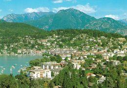 1 AK Schweiz * Blick Auf Ascona Am Lago Maggiore - Luftbildaufnahme - Kanton Tessin * - TI Tessin