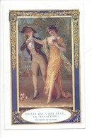 21523- Femmes Celles Qui L'ont Elue... La Malaceïne La Réponse Est Au Verso - Publicité