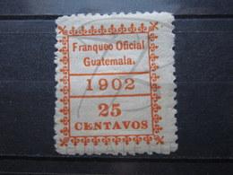 VEND BEAU TIMBRE DE SERVICE DU GUATEMALA N° 5 , X !!! - Guatemala