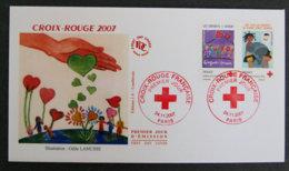 FRANCE - 2007 - FDC 4125 Et 4126 - Croix Rouge - FDC