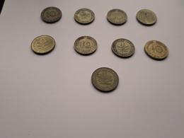 LOT 9 PIECES BUNDESREPUBLIK DEUTSCHLAND 10 PENNING - [11] Collections