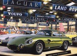 Aston Martin DP214 Coupe    -   Carte Postale - Voitures De Tourisme