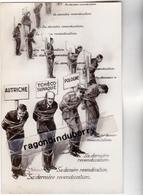 CPA - ADOLPHE HITLER Sa DERNIERE REVENDICATION  - CARTE SATIRIQUE Sur Hostilité Envers AUTRICHE, POLOGNE, TCHECO-SLOVAQ - Autres