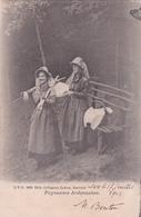 CPA Paysannes Ardennaises - D.V.D. N°8990 Edit. Collignon-Lekeu - 1903 - La-Roche-en-Ardenne