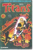 TITANS N° 62 - LA GUERRE DES ETOILES   - 1984 - Titans