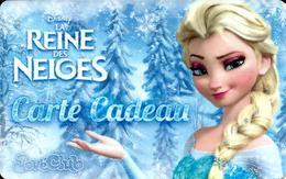 Carte Cadeau - JouéClub - La Reine Des Neiges - GIFT CARD /GESCHENKKARTE - Cartes Cadeaux