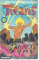 TITANS N° 70 - LA GUERRE DES ETOILES   - 1984 - Titans