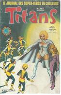 TITANS N° 73 - LA GUERRE DES ETOILES   - 1985 - Titans