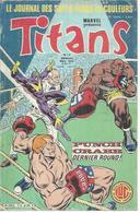 TITANS N° 74 - LA GUERRE DES ETOILES   - 1985 - Titans