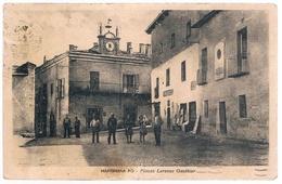 B3266 - Martiniana Po, Piazza Lorenzo Gauthier, Viaggiata 1942 Macchia In Basso - Cuneo