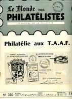 Le Monde Des Philatelistes N.330,usage Courant ,Algérie 1926-43,5F Duaret Vanier,Semeuse Type,Sabine Bequet Varieté UV - Revistas