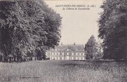 CPA 76 @ SAINT OUEN DU BREUIL - Le Château De Gueutteville - France