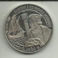 2 1/2 Ecú 1992 Portugal (D. João II) - Portugal