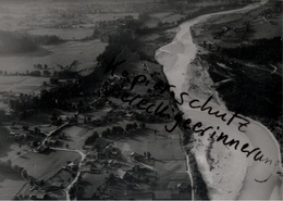 + LENGGRIES Wegscheid,Isar, Bayern, Seltenes Luftbild 1937, Nr. 27593, Format 18 X 13 Cm - Lenggries