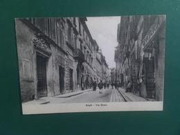 Cartolina Rieti - Via Roma - 1925 - Rieti