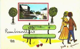 Rambervillers Ilustration Claude Verrier - Rambervillers