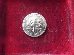 STATI UNITI UNITED STATE US USA 1 DIME 1958 Silver Dose Roosevelt  ZLLIB - Bondsuitgaven