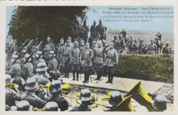Militaria - Guerre 14-18 - Armée Allemande - Guillaume II Aisne - La Tombelle - Guerre 1914-18