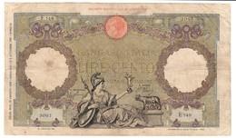 Italy 100 Lire 19/08/1941 - [ 1] …-1946 : Regno