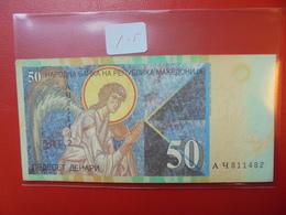 MACEDOINE 50 DINARS 1996 CIRCULER BELLE QUALITE - Macédoine