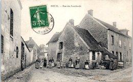 51 - REUIL --  Rue De Lombards - France