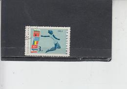 BLGARIA  1963 - Yvert  1202 - Sport - Salto - Salto
