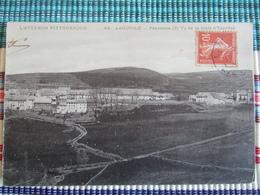 AVEYRON PITTORESQUE / LAGUIOLE / PANORAMA VU DE LA ROUTE D'ESPALION / JOLIE CARTE 1917 - Laguiole