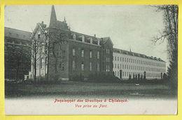 * Tildonk - Thildonck (Haacht - Brabant) * (Weck Frères, Rue Blaes 28) Pensionnat Des Ursulines, Vue Prise Au Parc école - Haacht