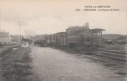 Treguier Depart Du Train - Tréguier