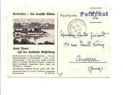 ALLEMAGNE CARTE DE FELPOST SECTEUR FRANCAIS 1945 - Zone Française