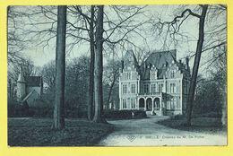 * Melle (Gent - Gand) * (SBP, Nr 3) Chateau De M. De Potter, Castle, Kasteel, Schloss, Unique, Rare, TOP, Prachtkaart - Melle