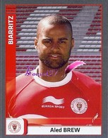 Image PANINI Sport RUGBY 2012-2013 (top 14 Pro D2) N° 80 Bordeaux BREW - Panini