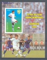 Uzbekistan 2006 Mi Bl 39 MNH ( ZS9 UZBbl39 ) - Coupe Du Monde